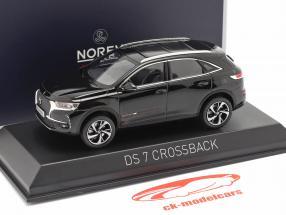 DS 7 Crossback year 2017 black 1:43 Norev