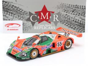 Mazda 787B #55 gagnant 24h LeMans 1991 Weidler, Herbert, Gachot 1:18 CMR