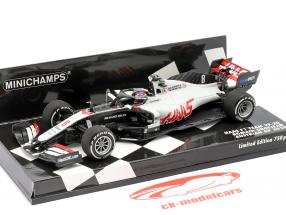 Romain Grosjean Haas VF-20 #8 austriaco GP formula 1 2020 1:43 Minichamps