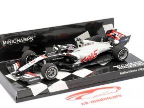 Romain Grosjean Haas VF-20 #8 Oostenrijks GP formule 1 2020 1:43 Minichamps