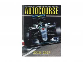 Libro: AUTOCOURSE 2016-2017: The World's Leading Grand Prix Annual (Inglese)