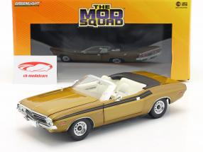 Dodge Challenger 340 1971 TV series The Mod Squad (1968-73) gold 1:18 Greenlight