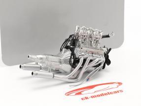 Inyectado 396 Big Block Chevrolet Motor and transmisión 1:18 GMP