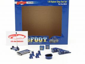 Bigfoot Shop Tool Set #2 1:18 GMP