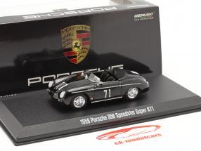 Porsche 356 Speedster Super 1958 #71 Steve McQueen 1:43 Greenlight