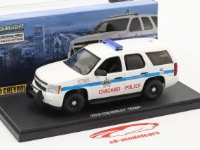Chevrolet Tahoe Chicago Police 2010 weiß 1:43 Greenlight