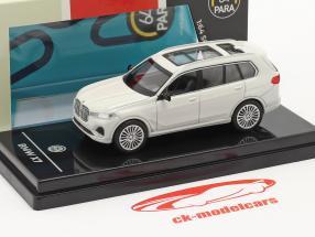 BMW X7 (G07) LHD Anno di costruzione 2019 bianca 1:64 Paragon Models