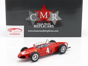 Graf Berghe v. Trips Ferrari 156 Sharknose #4 优胜者 英式 GP F1 1961 1:18 CMR