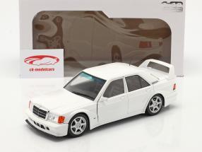 Mercedes-Benz 190E Evo 2 Ano de construção 1990 Branco 1:18 Solido