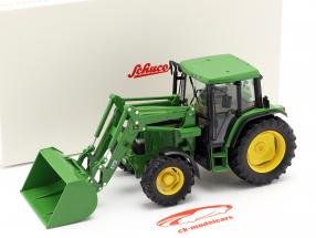 John Deere 6300 tractor with Front loader year 1992-97 green 1:32 Schuco