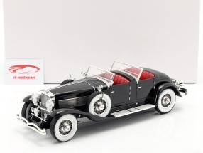 Duesenberg SJ 2608 Torpedo Phaeton Walker LaGrande 1930  sort 1:18 Matrix