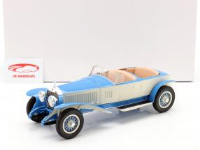 Rolls Royce Phantom Experimental Vehicle by Barker 1926 blau / beige 1:18 Matrix