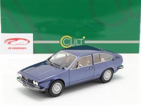 Alfa Romeo Alfetta GT year 1975 blue metallic 1:18 Cult Scale