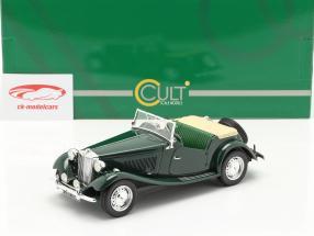 MG TD RHD year 1953 woodland green 1:18 Cult Scale