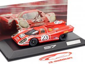 Porsche 917 K #23 vincitore 24h LeMans 1970 Attwood, Herrmann 1:43 Spark