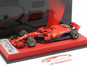 Sebastian Vettel Ferrari SF71H #5 United States GP formula 1 2018 1:43 BBR
