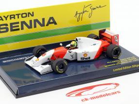 Ayrton Senna McLaren MP4/8 #8 Sieger Japan GP Formel 1 1993 1:43 Minichamps