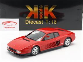 Ferrari Testarossa Monospecchio year 1984 red 1:18 KK-Scale