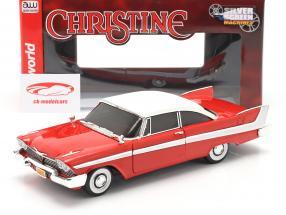 Plymouth Fury year 1958 Movie Christine (1983) red / White 1:18 AutoWorld