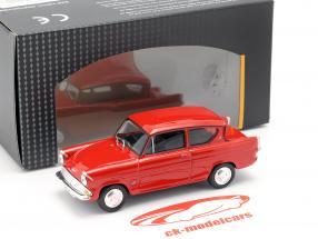 Ford Anglia MKI rosso 1:43 Cararama