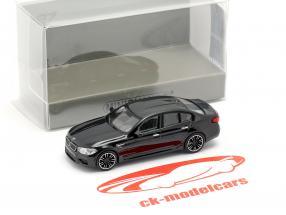 BMW M5 year 2018 black metallic 1:87 Minichamps