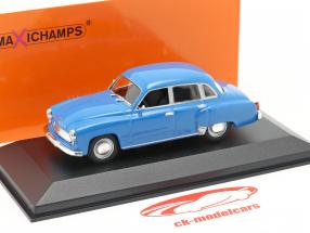 Wartburg 311 år 1959 blå 1:43 MInichamps