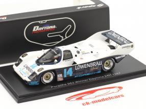 Porsche 962 #14 Vincitore 24h Daytona 1987 Robinson, Bell, Al Unser Jr., Holbert 1:43 Spark