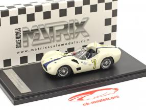 Maserati Tipo 61 #7 vinder Libertad GP Cuba 1960 Moss 1:43 Matrix