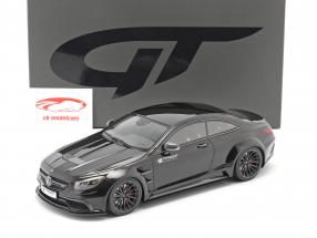 Mercedes-Benz S-Klasse Prior Design PD75SC 2017 obsidian schwarz 1:18 GT-Spirit