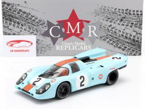 Porsche 917K #2 ganador 24h Daytona 1970 Rodriguez, Kinnunen, Redman 1:18 CMR