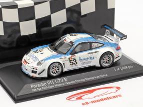 Porsche 911 GT3 R #53 Class Winner 24h Spa 2010 1:43 Minichamps