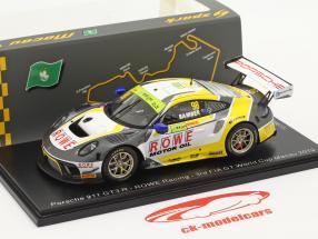 Porsche 911 GT3 R #98 3rd FIA GT World Cup Macau 2019 Earl Bamber 1:43 Spark