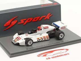 Jac Nelleman Brabham BT44B #33 Practice Sweden GP formula 1 1976 1:43 Spark