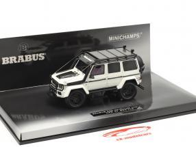 Brabus 550 Adventure Mercedes-Benz Clase G 4x4² 2017 Blanco 1:43 Minichamps