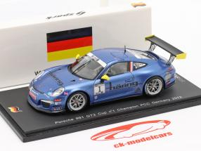 K. Estre Porsche 911 (991) GT3 Cup #1 Champion Allemagne PCC 2013 1:43 Spark