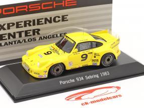 Porsche 934 #9 Vincitore 12h Sebring 1983 Baker,Mullen,Nierop 1:43 Spark