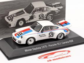 Porsche 911 Carrera RSR #59 Vinder 24h Daytona 1975 Brumos Porsche 1:43 Spark