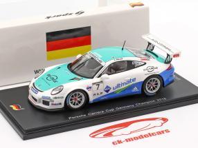 Porsche 911 (991) GT3 Cup #7 vencedor PCC Alemanha 2016 Sven Müller 1:43 Spark