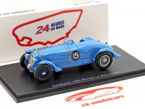 Delahaye 135 CS #15 gagnant 24h LeMans 1938 Chaboud, Tremoulet 1:43 Spark