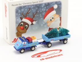 Unimog 401 Con Carico Edizione natalizia 2020 1:90 Schuco Piccolo