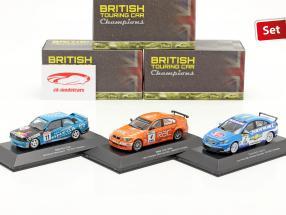 3-Car Set BTCC kampioen 1991 & 2009 & 2010 1:43 Atlas