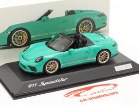 Porsche 911 (991 II) Speedster Vert Jade 1:43 Spark