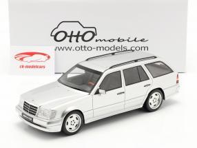 Mercedes-Benz AMG E-Klasse E36 (S124) 1995 brilliant silber 1:18 OttOmobile