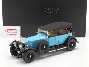 Rolls Royce Phantom I Cabriolet Byggeår 1926 lys blå 1:18 Kyosho