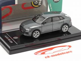 Audi RS Q8 year 2018 daytona grey metallic 1:64 Paragon Models