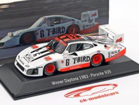 Porsche 935 #6 Winnaar 24h Daytona 1983 Henn's Swap Shop Racing 1:43 Spark