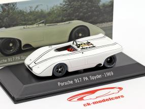 Porsche 917 PA Spyder Teste Carro Weissach 1969 1:43 Spark