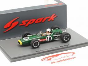 Sam Tingle LDS Mk3 #18 Syd afrikansk GP formel 1 1967 1:43 Spark