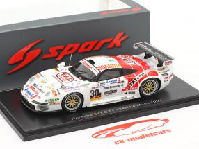 Porsche 911 GT1 #30 24h LeMans 1997 Gachot, Evans, Bouchut 1:43 Spark