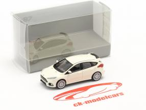 Ford Focus RS año 2018 blanco 1:87 Minichamps